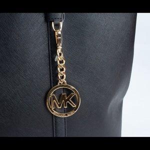 Michael Kors Bags - Michael Kors LG Ciara Tote Bag Black and Gold
